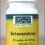 Betacaroteno GHF